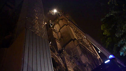 France: More footage emerges of Notre Dame spire collapse