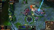 League of Legends - Супер Tank Cho Gath (1080p) [atisas]