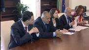 Борисов: Най-голям е напредъкът по строителството на тръбата с Румъния