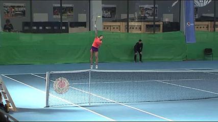 Финал на държавното първенство по тенис в зала