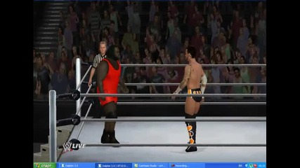 cm punk vs mark henry