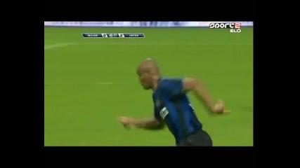 Milan - Inter 0:4 - гол на Майкон