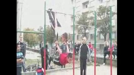 Street Fitness среща - Стара Загора 15.10.11