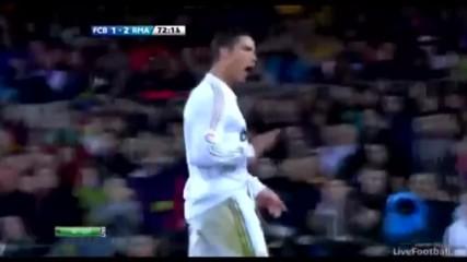 Барселона - Реал Мадрид 1:2 | 21.04.212 | Всичко интересно.