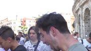 Italy: Pokemon Go gladiators battle outside Colosseum