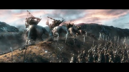Watch the new trailer for The Hobbit: The Battle of the Five Armies