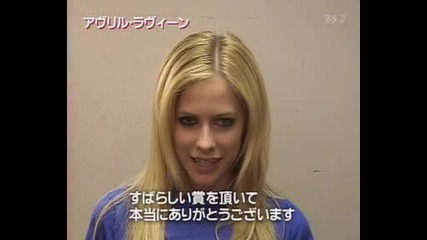 Avril Lavigne - Japan Gold Disc Award
