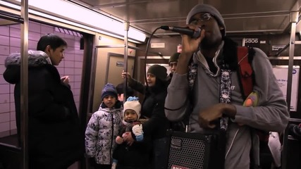 Бийтбокс в метрото !