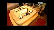 Как се прави - цимент , луксозни ковчези , газирани напитки , люлеещи столове - с Бг превод