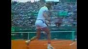 Roland Garros 1980 Björn Borg vs Vitas Gerulaitis
