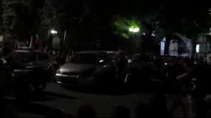 Протест срещу циганите в Русе
