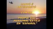 La Distanciacanta Domenico Modugno...con Su Propia Voz, Personal Estilo Y En Espanol...