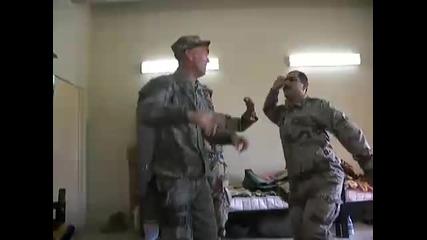 Войнишки танц в Багдад Ирак