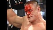 Wwe New Years Revolution 2006 Edge кешва куфарчето vs John Cena за Титлата на федерацията