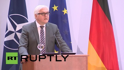 Germany: Steinmeier celebrates 60 years of NATO membership