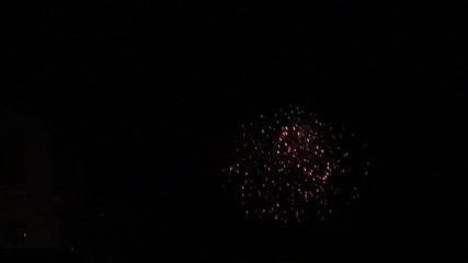 Такава заря не сте виждали !!! Вижте какво е небето на 4-ти юли в един малък американски град