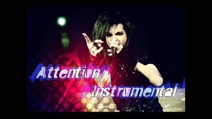 * Инструментал + lyrics * Tokio Hotel - Attention Instrumental