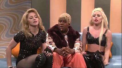 Lady Gaga &(vs) Madonna - On Snl vtora versiq Hd