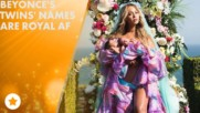 Beyonce's epic name announcement is fitting for a Queen