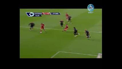 Liverpool 1 - 0 Stoke City Torres
