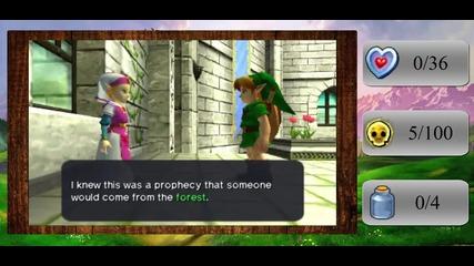 The Legend of Zelda - Ocarina of Time 3d Walkthrough Part 3