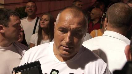 Борисов: Матеус трябваше да гледа българските звезди, имаше и мажоретки