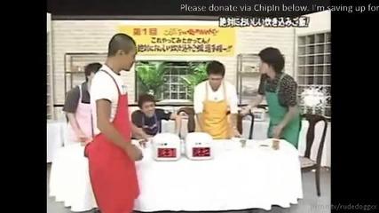 (eng Sub) Gaki No Tsukai Cooking Part 3