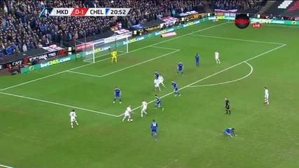 МК Донс посече Челси със страхотно попадение