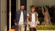 Justin Bieber Guest Mentors at Judges&' Homes