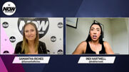 Indi Hartwell on being NXT Women's Tag Team Champion, The Way, & her WWE goals: WWE Now Down Under
