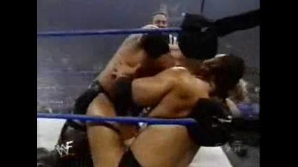 Smackdown 13.01.00 - The Rock & Big Show vs Triple H & X Pac