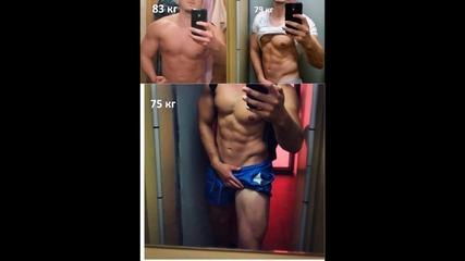 Тренировка за горна част - Дърпащи упражнения/ Снимки на прогрес 2015г cut / Работят ли тези методи?
