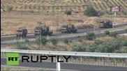 Турция: Военните сили на Турция засилват присъствие на границата със Сирия
