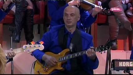 Lepa Brena & Snezana Djurisic - Ja nemam drugi dom - (LIVE) - Narod pita - (TV PINK 2013)