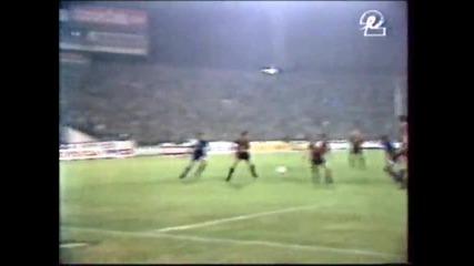 Levski - Glasgow Rangers 1 - 0 Nasko Sirakov - 1993