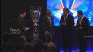 Купата на Шампионската лига пристигна в Лисабон