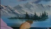 S02 Радостта на живописта с Bob Ross E13 - изящество finale ღобучение в рисуване, живописღ