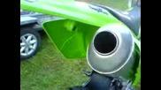 Kawasaki kxf 250 4t sound