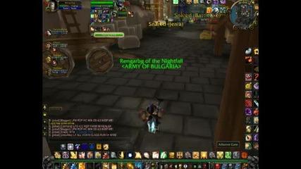World Of Warcraft 80level pvp Retripala Battlegrounds