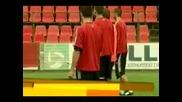 Дебрецен тренира преди реванша с Левски