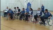 Проект баскетболен отбор за хора с увреждания на Ротаракт клуб Бургас Пиргос