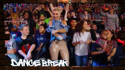 "Sarah Schreiber leads a ""Dance Break"" at Raw: WWE.com Exclusive, May 23, 2019"