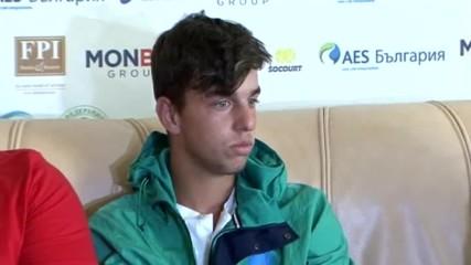 Адриан Андреев: През 2018 искам титла от Големия шлем, после топ 100