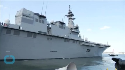 Japan's Navy Unveils 'Aircraft Carrier in Disguise'