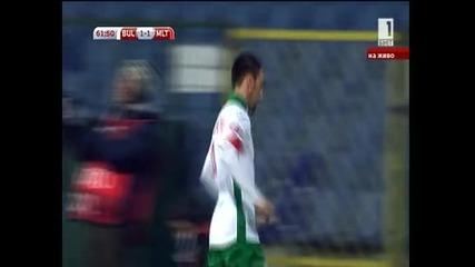 България - Малта  - 1:1