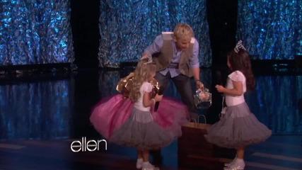 8-годишни момичета рапират в шоуто на Ellen - Turn My Swag On