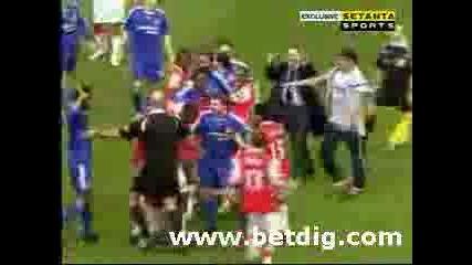 Бой Arsenal Vs. Chelsea