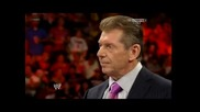 Daniel Bryan confronted Mr. Mcmahon [ Raw 29.7.13]