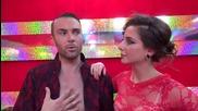 Dancing Stars - Антон и Дорина за важните елементи в танца (22.04.2014)