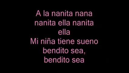 The Cheetah Girls - A La Nanita Nana